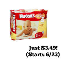 print now huggies diapers as low as 3 49 at publix starting 6 23