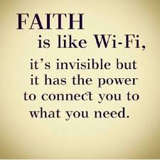 Religious Quotes About Faith Magnificent Faith Is Like Wifi Pictures Photos And Images For Facebook Tumblr