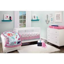 disney princess happily ever after  piece crib bedding set pink