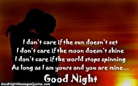Goodnight I Love You Quotes Mesmerizing 48 Sweet Good Night Messages Wishes Quotes For Wife Her