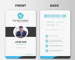 Identity Card Design Business Id Cards Barca Fontanacountryinn Com