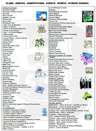 list of sports teams list of clubs activities sports competitions and more st