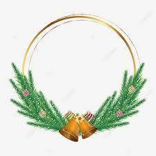 marry christmas frame design border