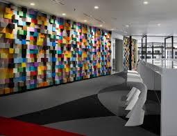 office wall design. Office Decor - Vibrant Sherwin-Williams Interior Design In Malaysia Wall L