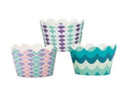 Mermaid Cupcake Decorating Kit Royal Icing Baking Supply