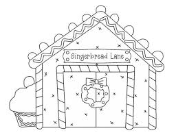 Small Picture Gingerbread House and Cupcake Coloring Page NetArt