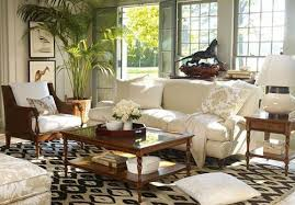 palm tree tropical living room charming interior decoration ideas