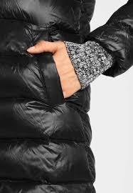 gap tb hooded winter coat true black