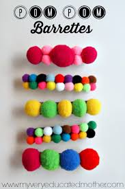 best diy gifts for s pom pom barettes cute crafts and diy projects that