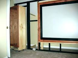 false wall ideas false wall for false wall ideas false wall rack home theater build panels false wall