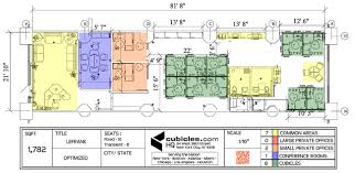 office cubicle design layout. Office Furniture Layout With 6 Work Stations For 1,155 Cubicle Design