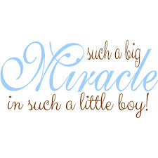 Miracle Baby Quotes Interesting Miracle Baby Quotes And Sayings
