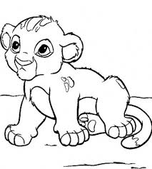 Small Picture Cute Coloring Pages Cute Baby Lion Coloring Pages hermesboardcom