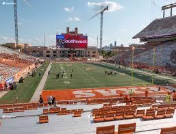 Darrell K Royal Texas Memorial Stadium Section 17 Seat