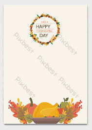 Thanksgiving A4 Letterhead Word Template Download Word
