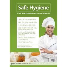Food Hygiene Poster Food Safety Poster Safe Hygiene Southern Hospitality