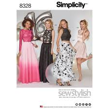 Simplicity Pattern Fascinating Simplicity Pattern 48 Misses' Special Occasions Dress