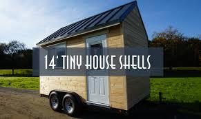 14ft tiny house trailer shell