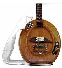 this is the related images of Toilet Seat Guitar