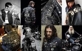 the global cafe racer rocker movement in this new publication horst captures the spirit of the personalised leather motorcycle jackets worn by past and