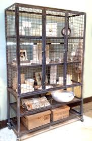Wire Mesh For Cabinets Steel Wire Cabinet Display Curio Jennifer Price Studio Solo Cedros