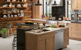 Kitchen And Home Appliances Rustic Urban Kitchen Design Photo Ge Appliances