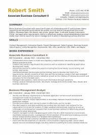 It Consultant Resume Sample Business Consultant Resume Samples Qwikresume