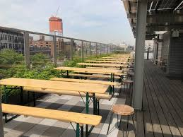 clinton hall will open the doors to its new 2 000 square foot rooftop beer