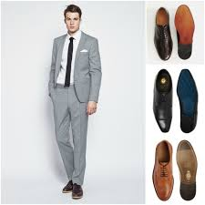 Shoes With Light Grey Pants What Colour Shoes To Wear With Your Suit Light Grey Suits