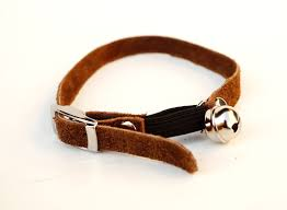 cat collar with bell soft suede breakaway cat collars