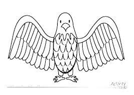Coloring Pages Of Bald Eagles Trustbanksurinamecom
