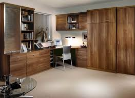 Fitted study bedroom in Uno Walnut