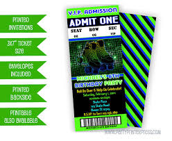 Party Ticket Invitations New Green Roller Skate Invitation Roller Skating Party Invitations
