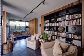 Living Room Bookshelves Painting Concrete Floors In Living Room Painted Cement Floors