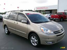 2004 Desert Sand Mica Toyota Sienna XLE Limited AWD #31038386 ...
