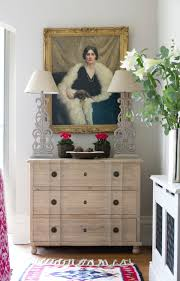 Oak Bedroom Chest Of Drawers Weathered Oak Three Drawer Chest Vintage French Style