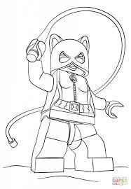 Small Picture Lego Catwoman Cartoon Coloring Page Cartoon Fun Lego Batman