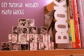 less is more diy wood photo blocks