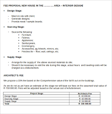 Cost Proposal Templates Fee Proposal Template Best And Professional Templates 22