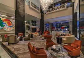 the post oak hotel is full of surprises and places to lounge in comfort