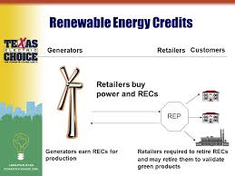 topics iuml sect renewable energy iuml sect electricity prices and retail 3 renewable energy credits generators generators earn recs for production customers retailers required to retire recs and retire them to validate green