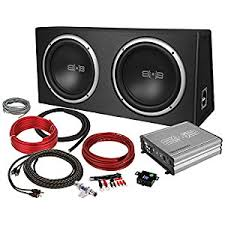 amazon com belva 1200 watt complete car subwoofer package belva 1200 watt complete car subwoofer package includes two 2 12 inch subwoofers in ported box monoblock amplifier amp wire kit bpkg212v2