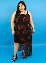 Tess Holliday Size Chart We Tried On Tess Hollidays Affordable Plus Size Line Revelist