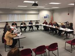the pennsylvania democratic policy committee roundtable discussion was held at careerlink lehigh valley in allentown