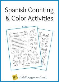 Printable teacher worksheets, coloring pages, crafts, games, bubble letters, templates, masks, and other fun activities for kids. Printable Spanish Counting Activities Spanish Playground