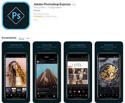 adobe photo express photo editing app