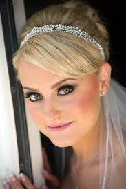bridal hair and makeup for wedding at moorpark country club by brittany