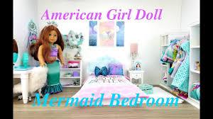 American Girl Doll Mermaid Bedroom Set Up - YouTube