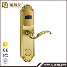 china supplier door handle magnetic electronic key card door lock with hotel lock system