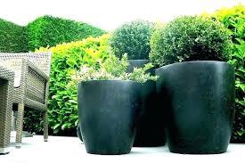 black ceramic plant pot large pots special glazed garden planters p adelaide mic outdoor black ceramics pots stock photo ceramic perth
